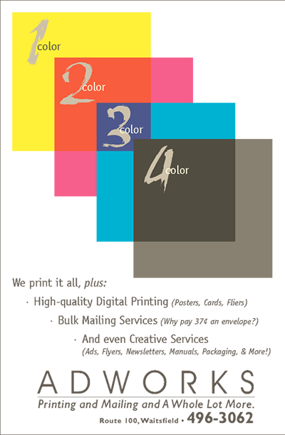 4 Color ad